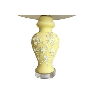 Mid-Century Moriage Lamp & Shade Preview