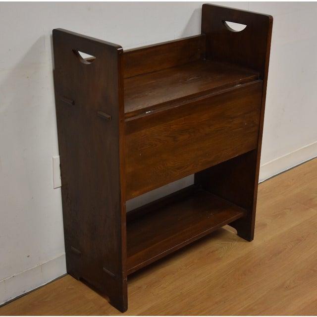 Gustav Stickley Craftsman Desk - Image 2 of 10