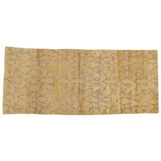"Gold Turkish Rug - 3'5"" x 8'"