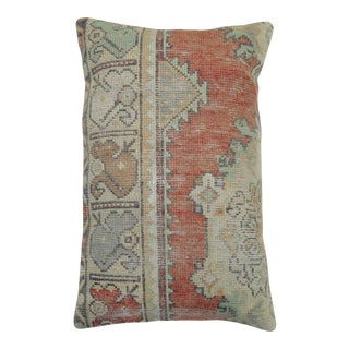 Large Turkish Rug Pillow For Sale