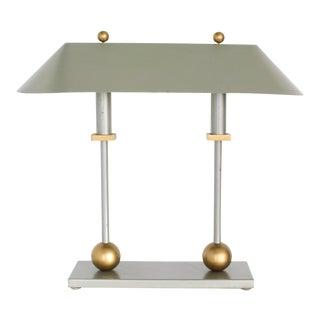 Postmodern Library Lamp by Robert Sonneman For Sale