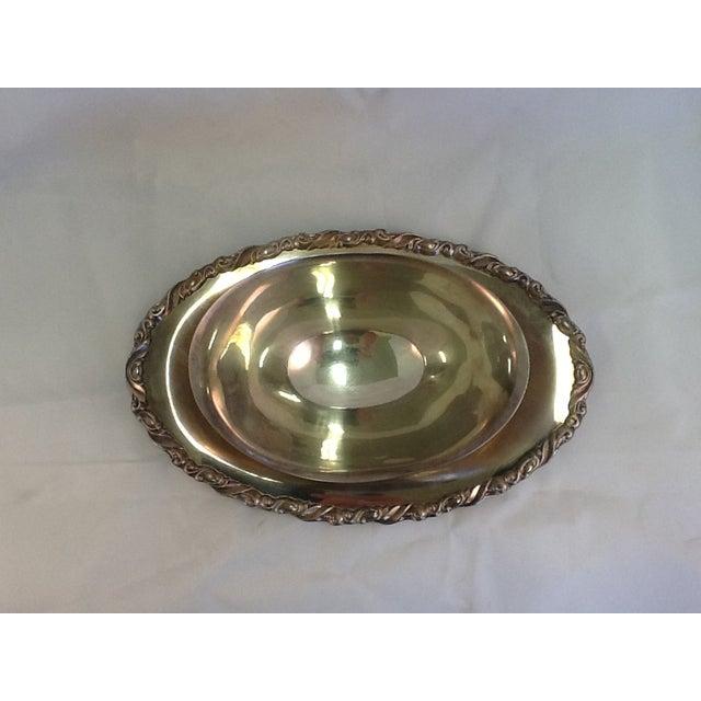 Vintage Oneida Silver Plate Gravy Boat - Image 4 of 5