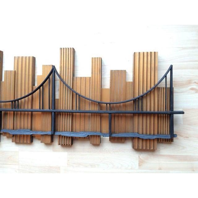Signed 1969 Skyscraper Bridge Sculpture For Sale In New York - Image 6 of 11