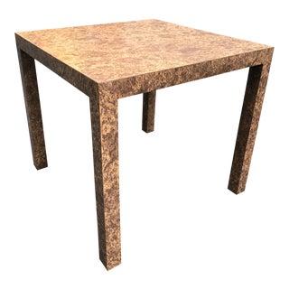 Milo Baughman Style Parsons Table