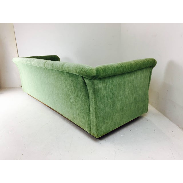 Mid-Century Modern Milo Baughman Chesterfield Style Tufted Sofa For Sale - Image 3 of 7