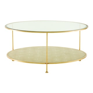 Century Furniture Adele Round Cocktail Table For Sale