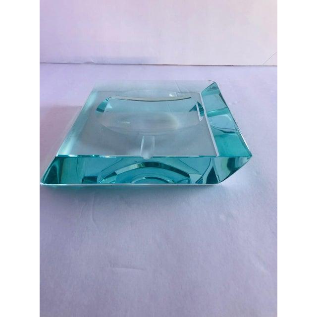 Beveled Glass Ashtray by Fontana Arte For Sale - Image 9 of 12