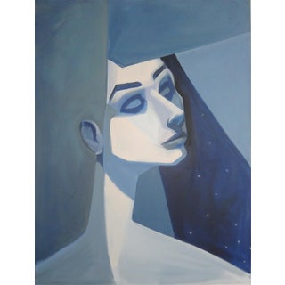 Modern Figure - Blue Girl