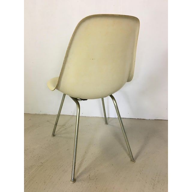 Herman Miller Five Fiberglass Eames Shell Chairs for Herman Miller For Sale - Image 4 of 8