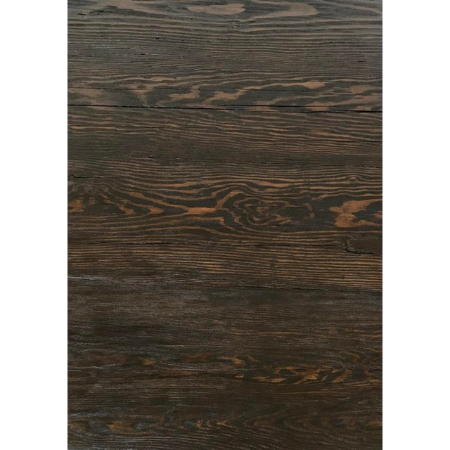Dos Gallos Custom Reclaimed Wood Rustic Modern Coffee Table For Sale In Los Angeles - Image 6 of 7