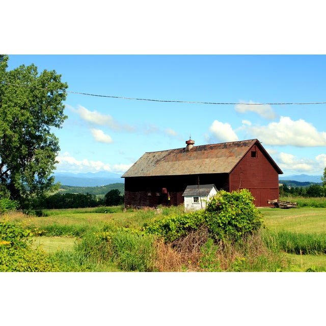 """Cottage """"Vermont Barn"""" Photograph by Josh Moulton For Sale - Image 3 of 3"""