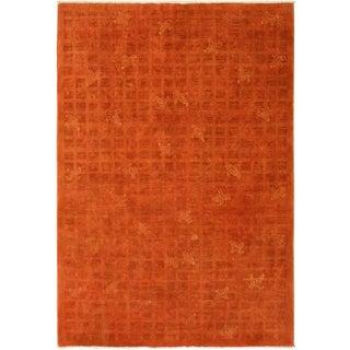 Overdyed Color Reform Doug Rust/Orange Area Rug - 5'11 X 8'8 For Sale