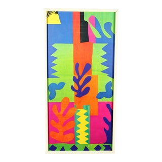 """Abstract Henri Matisse 1977 """"The Cut Outs"""" National Gallery Exhibition Framed Print"""