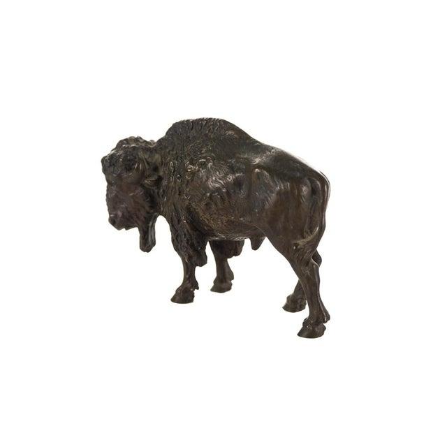 "Austrian Bronze 5"" Buffalo - Image 5 of 9"