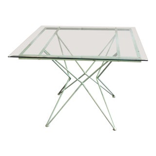 20th Century Modern Atomic Design Patio Table For Sale