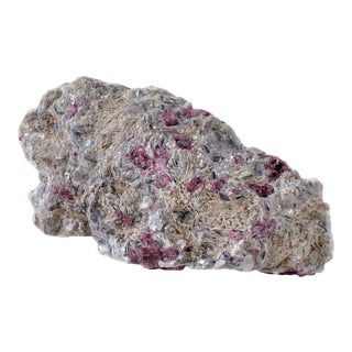 Pink Tourmaline & Muscovite For Sale