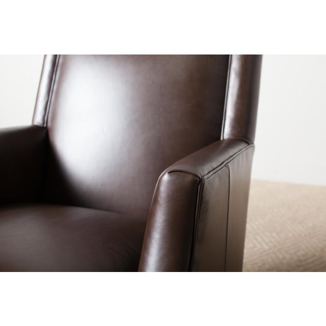 2010s Remy Leather Armchair For Sale - Image 5 of 6