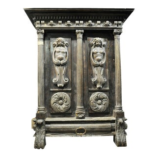 Impressive Renaissance Revival Armoire For Sale