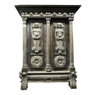 Impressive Renaissance Revival Armoire