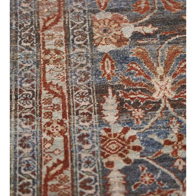 Late 19th Century Handwoven Malayer Wool Rug For Sale In Los Angeles - Image 6 of 10