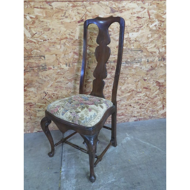 Italian Queen Anne Style Dining Chairs - Set of 6 For Sale In Philadelphia - Image 6 of 8