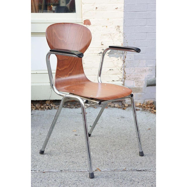 Obo Arm Chairs With Rounded Back - Set of 6 - Image 2 of 3