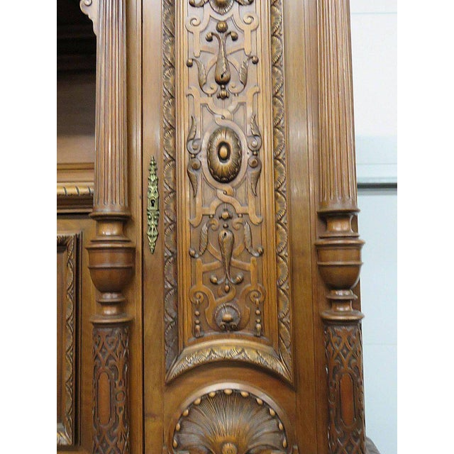Early 20th Century Renaissance Style Carved Cupboard For Sale - Image 5 of 8