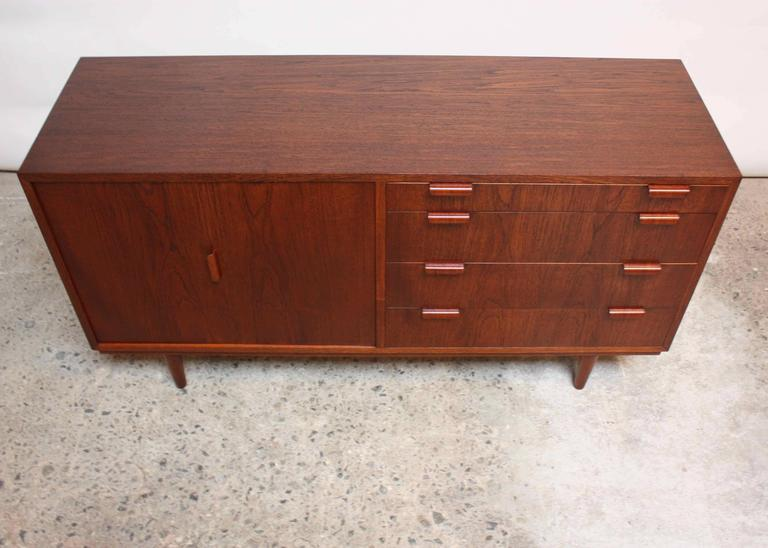 Danish Teak Sideboard By Carlo Jensen For Poul Hundevad   Image 4 Of 10