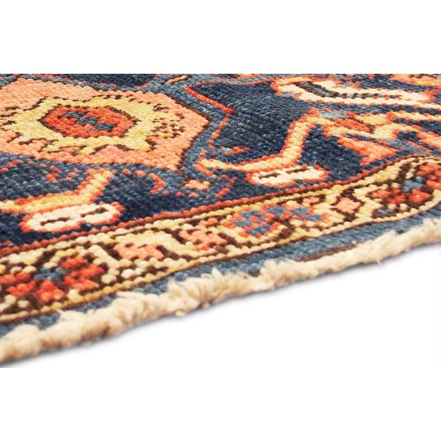 "Antique Persian Heriz Rug- 11'2"" x 15'3"" For Sale In New York - Image 6 of 6"