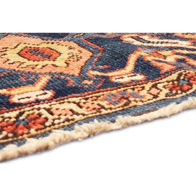 """Antique Persian Heriz Rug- 11'2"""" x 15'3"""" - Image 6 of 6"""