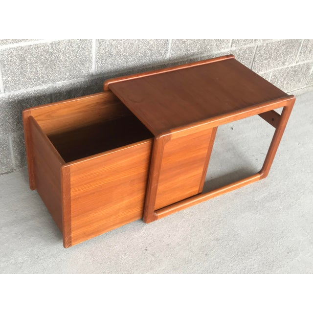 Danish Modern Wood File Cart For Sale In New Orleans - Image 6 of 9