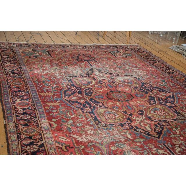 "Distressed Ahar Heriz Carpet - 8'2"" X 11'9"" - Image 3 of 10"