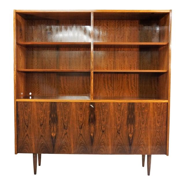 Original Danish Mid Century Hundevad Rosewood Bookcase - Image 1 of 9