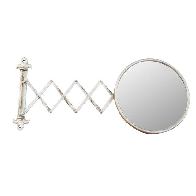 Antique Fleur De Lis Barber Mirror - Image 1 of 11