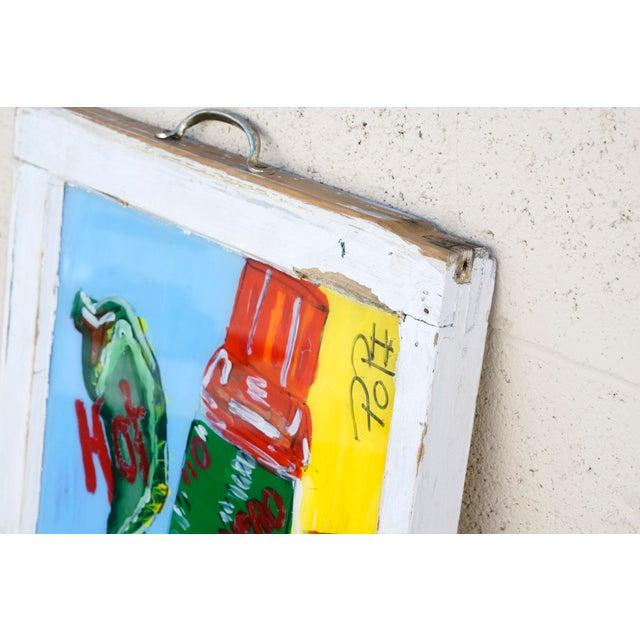 Folk Art Tabasco Folk Art Painting by Popi Cotrell For Sale - Image 3 of 6