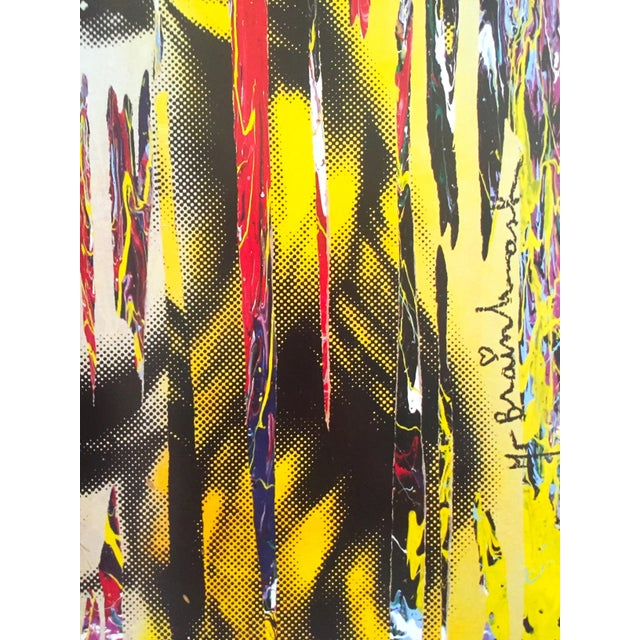 """Mr. Brainwash """" Kate Moss """" Rare Authentic Lithograph Print Pop Art Poster For Sale - Image 9 of 13"""