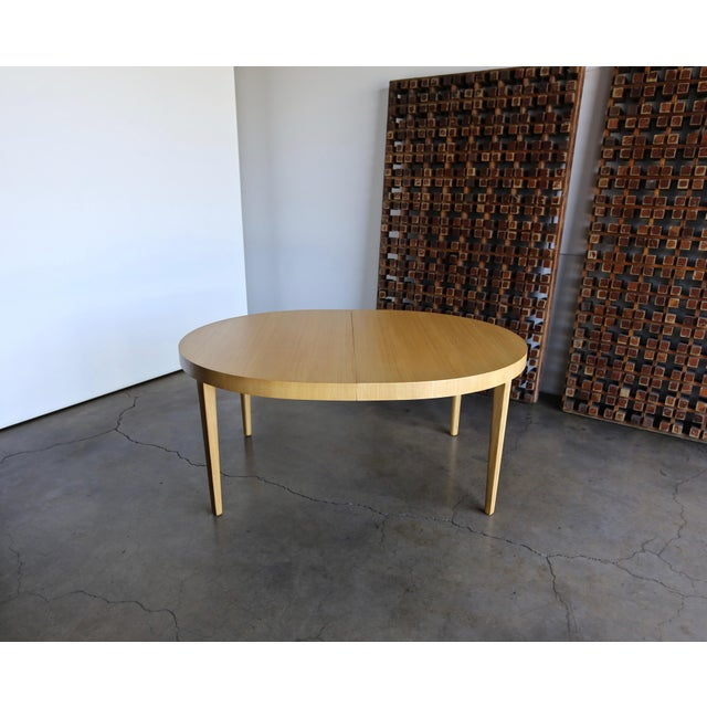 Mid-Century Modern Edward Wormley Dining Table for Dunbar Circa 1950 For Sale - Image 3 of 13