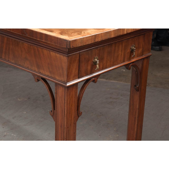 Wood Dutch 18th Century Mahogany and Walnut Server For Sale - Image 7 of 13