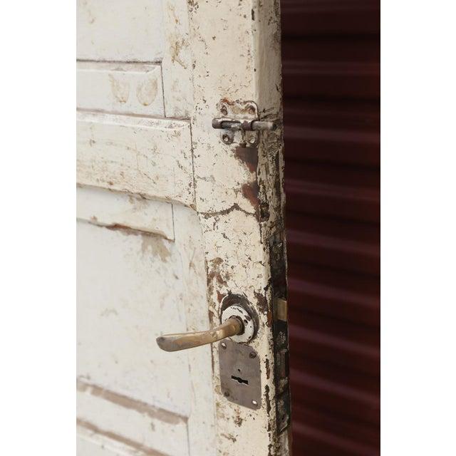 Fine Three Antique French Doors Decaso