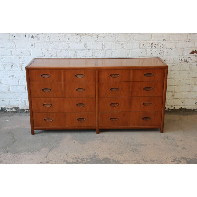 Traditional Michael Taylor for Baker New World Collection Eight-Drawer Dresser or Chest For Sale - Image 3 of 11