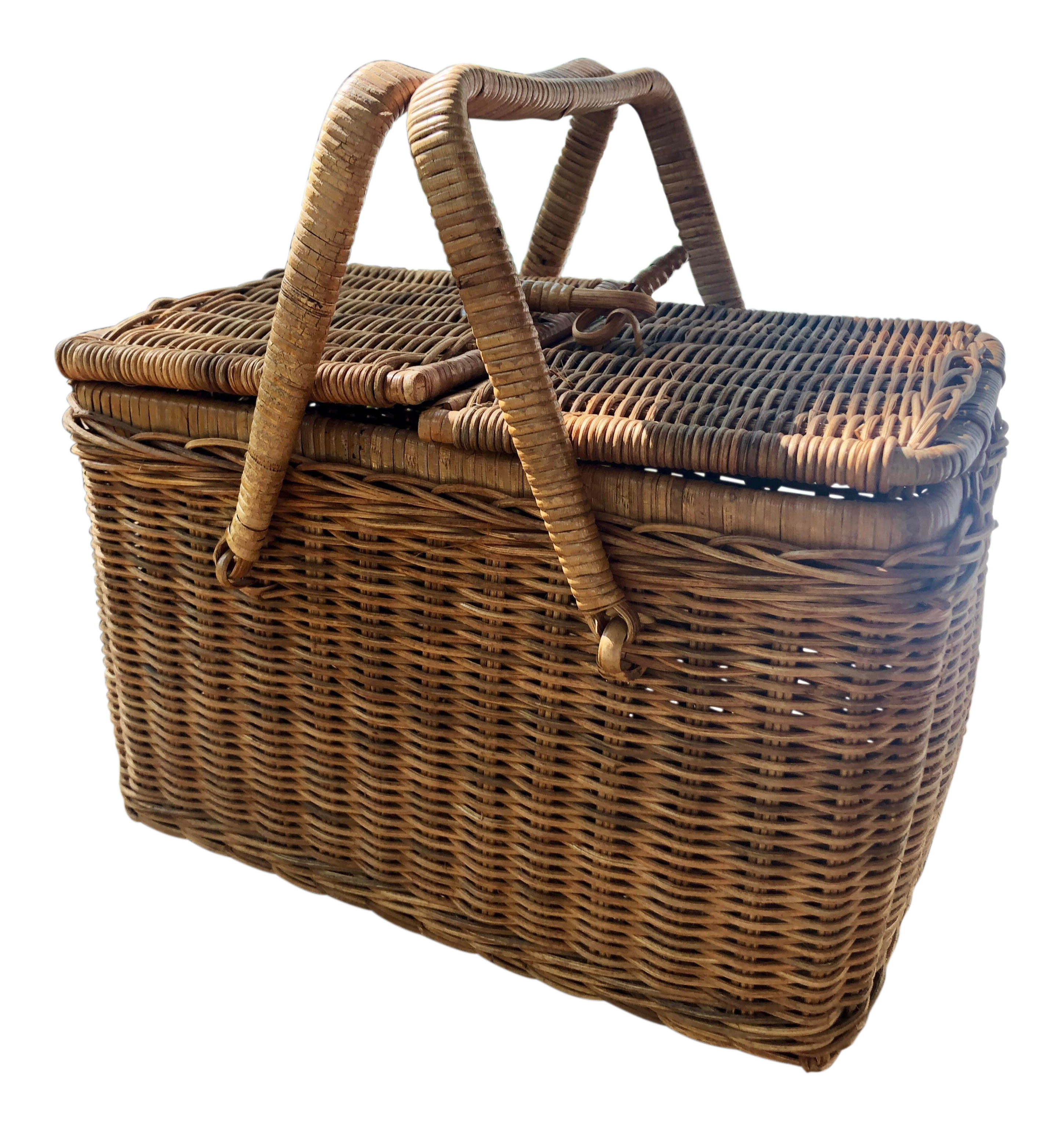 Vintage New Picnic Baskets For Sale Chairish
