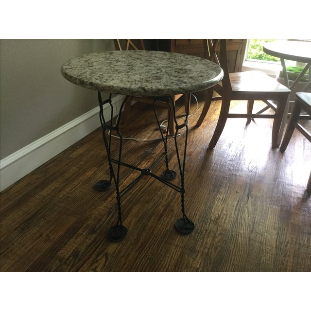 Vintage Ice Cream Parlor Dining Set - Image 5 of 7