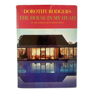 """1967 First Edition Dorothy Rodgers """"The House in My Head"""" Book For Sale"""