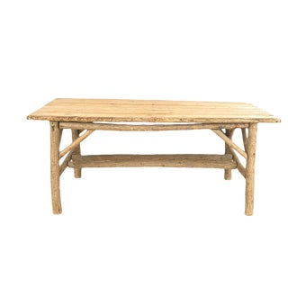 Rustic American Dining Table For Sale
