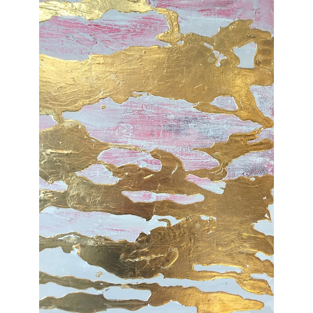 Metallic Commissioned Original Abstract Painting - Image 7 of 8
