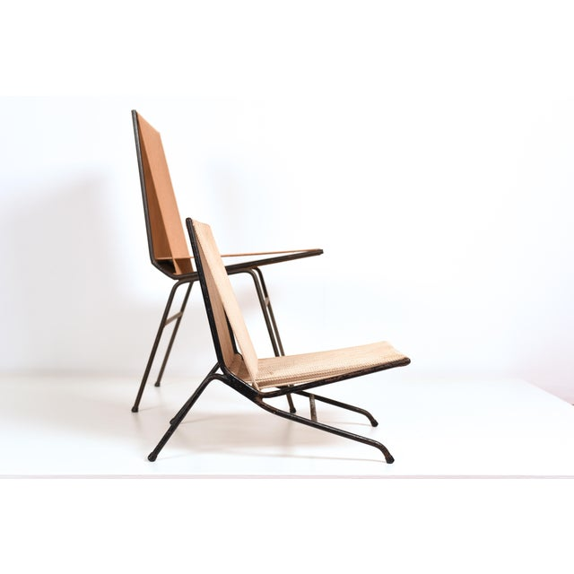 Mid-Century Modern 1950s Allan Gould 'String' or 'Rope' Child's Chair For Sale - Image 3 of 11