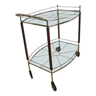 Chic Mid-Century Italian Bar Cart