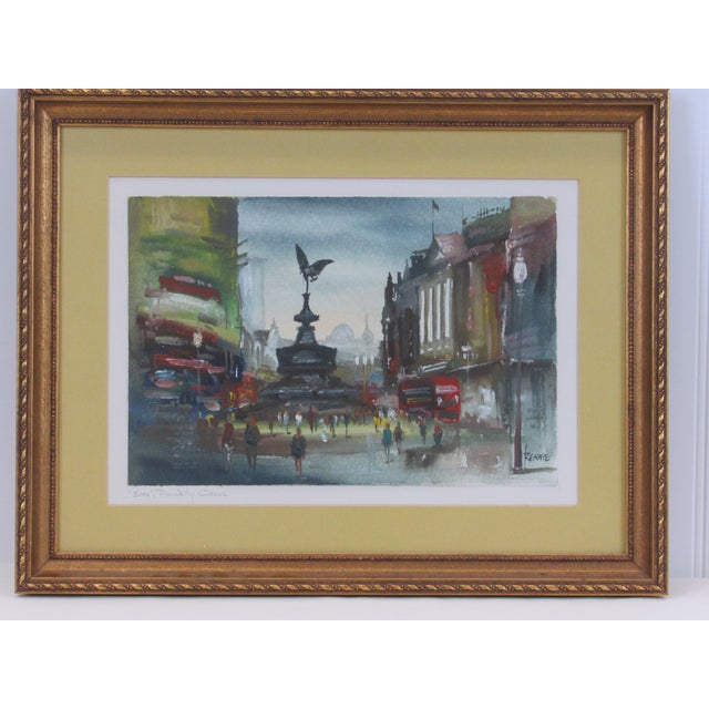 """""""Eros"""" Piccadilly Circus Painting For Sale - Image 13 of 13"""