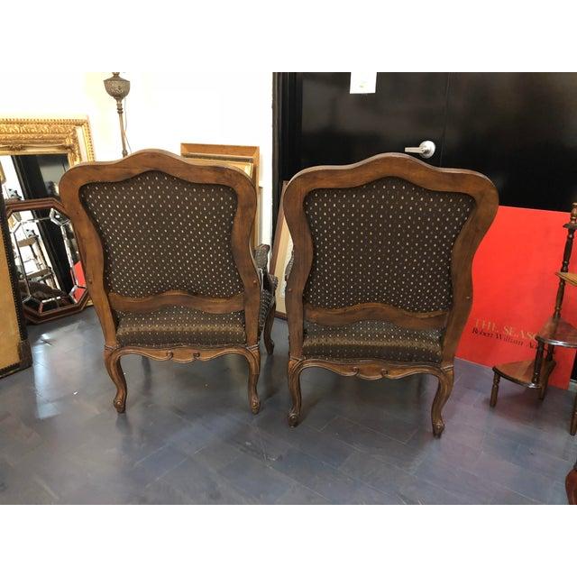 Vintage Mid Century Carson Pirie Scott Bergere Chairs A Pair