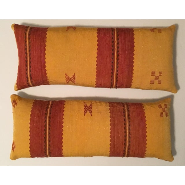Moroccan Cactus Silk Pillow - A Pair - Image 10 of 11
